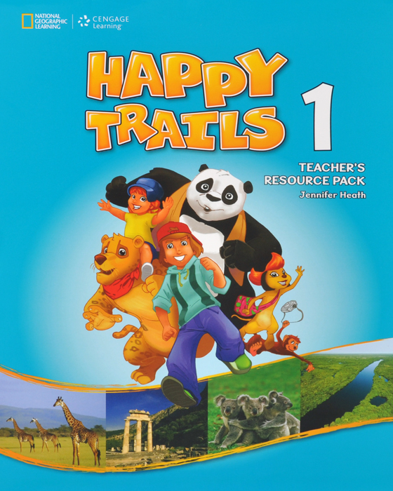 Happy Trails 1: Teacher's Resource Pack (+ CD-ROM) fourth grade vocabulary flashcards