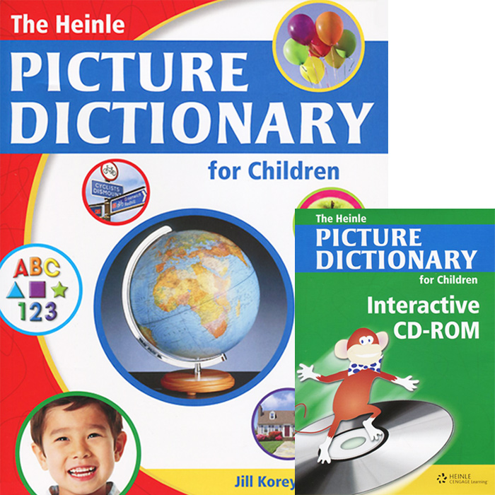 The Heinle Picture Dictionary for Children (+ CD-ROM) new eli picture dictionary cd rom german