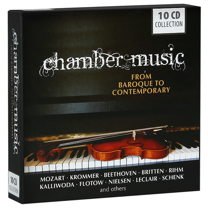 Содержание: CD 1: Chamber Music. From Baroque To Contemporary Music. Locke / Morel / Dieupart / Telmann / Schenk / Paisible / Leclair Matthew Locke