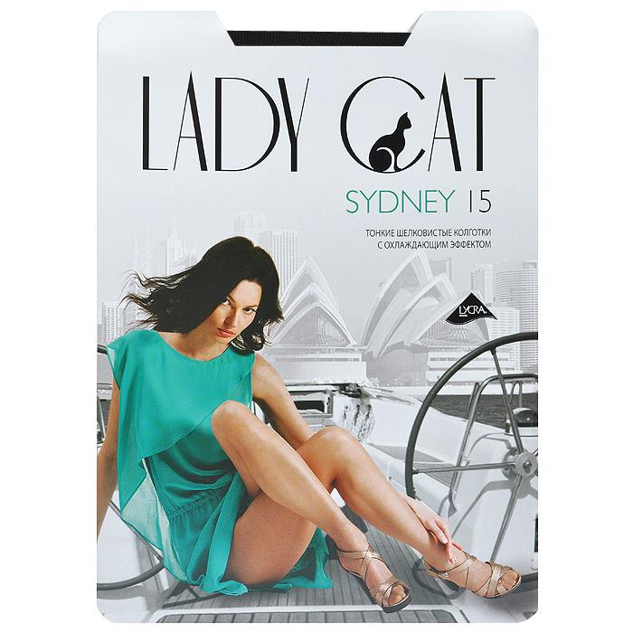 Колготки женские Lady Cat Sydney 15, цвет: черный. Размер 3Sydney 15Уникальные тонкие колготки Lady Cat Sydney 15, изготовленные из специальных нитей, с явно выраженным охлаждающим эффектом. Дарят ощущение прохлады в жаркое время. дополнительные плюсы - плоские швы, ластовица из хлопка.
