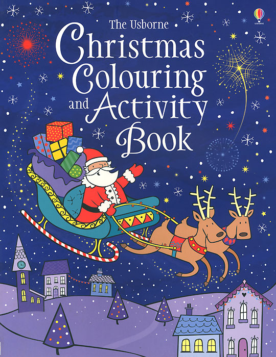 Christmas Colouring and Activity Book christmas wonderland to colour