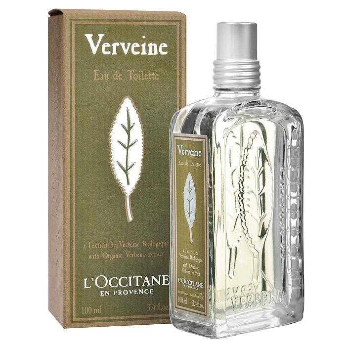 LOccitane Туалетная вода Вербена, 100 мл264362LOccitane Вербена - обладает яркими нотами средиземноморской вербены, герани и лимонного дерева.Элегантный стеклянный флакон оформлен листом вербены.Пирамида аромата: Верхние ноты: лимон, апельсин. Ноты сердца: вербена, петигрен.Ноты шлейфа: роза, герань. Характеристики:Объем: 100 мл. Производитель:Франция. Артикул: 264362. Туалетная вода - один из самых популярных видов парфюмерной продукции. Туалетная вода содержит 4-10%парфюмерного экстракта. Главные достоинства данного типа продукции заключаются в доступной цене, разнообразии форматов (как правило, 30, 50, 75, 100 мл), удобстве использования (чаще всего - спрей). Идеальна для дневного использования.Loccitane (Л окситан) - натуральная косметика с юга Франции, основатель которой Оливье Боссан.Название Loccitane происходит от названия старинной провинции - Окситании. Это также подчеркивает идею кампании - сочетании традиций и компонентов из Средиземноморья в средствах по уходу за кожей и для дома.LOccitane использует для производства косметических средств натуральные продукты: лаванду, оливки, тростниковый сахар, мед, миндаль, экстракты винограда и белого чая, эфирные масла розы, апельсина, морская соль также идет в дело. Специалисты компании с особой тщательностью отбирают сырье. Учитывается множество факторов, от места и условий выращивания сырья до времени и технологии сборки. Товар сертифицирован.Краткий гид по парфюмерии: виды, ноты, ароматы, советы по выбору. Статья OZON Гид
