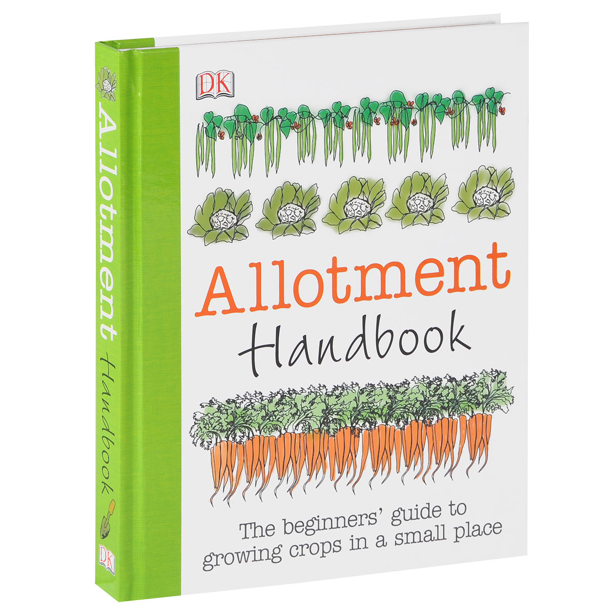 Allotment Handbook: The Beginners' Guide to Growing Crops in a Small Place new coffee machine home office semi automatic italy type cappuccino espresso coffee maker hot sales