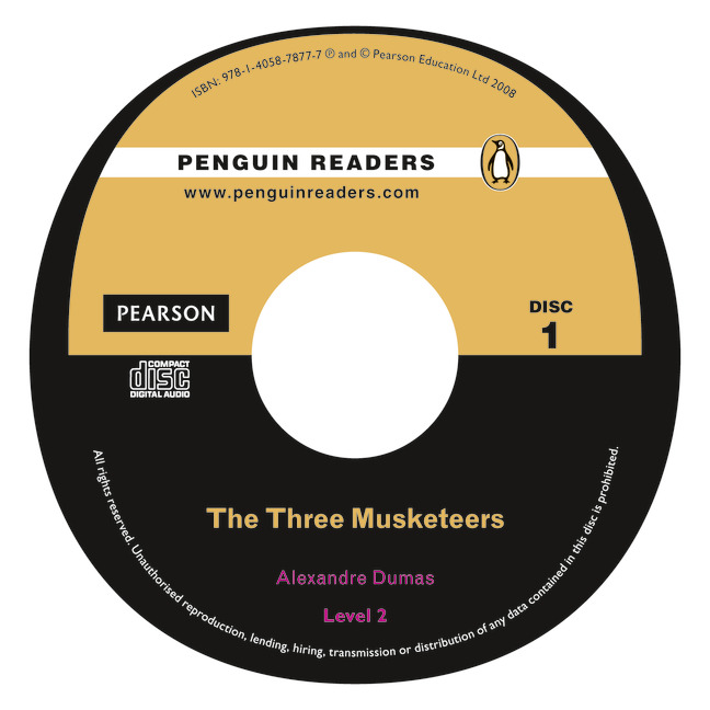 Penguin Readers New Edition Level 2 Three Musketeers Book/CD Pack evans v new round up 2 teacher's book грамматика английского языка russian edition with audio cd 3 edition