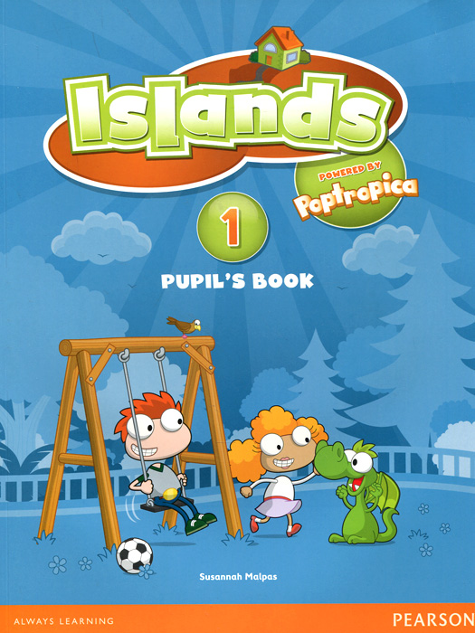 Islands Level 1 Pupil's Book Plus Pin Code (+ наклейки)