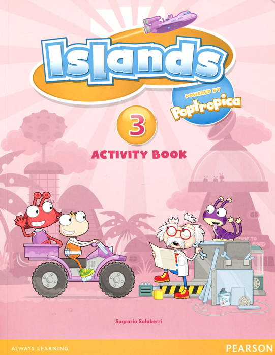 Islands: Level 3: Activity Book: Access Code christmas colouring and activity book