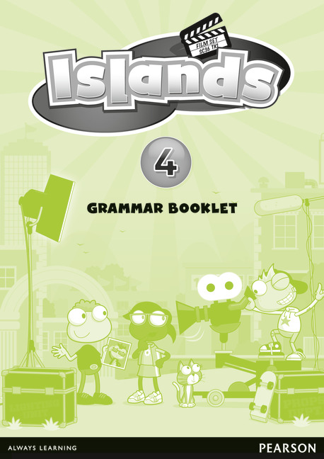 Islands Level 4 Grammar Booklet 400g pair a cup 100