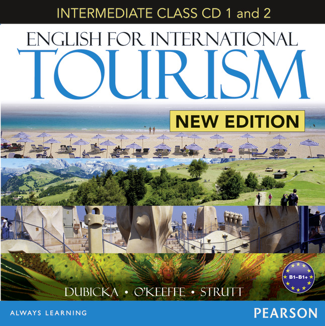 English for International Tourism: Intermediate Class (аудиокнига на 2 CD) times newspaper reading course of intermediate chinese 1 комплект из 2 книг