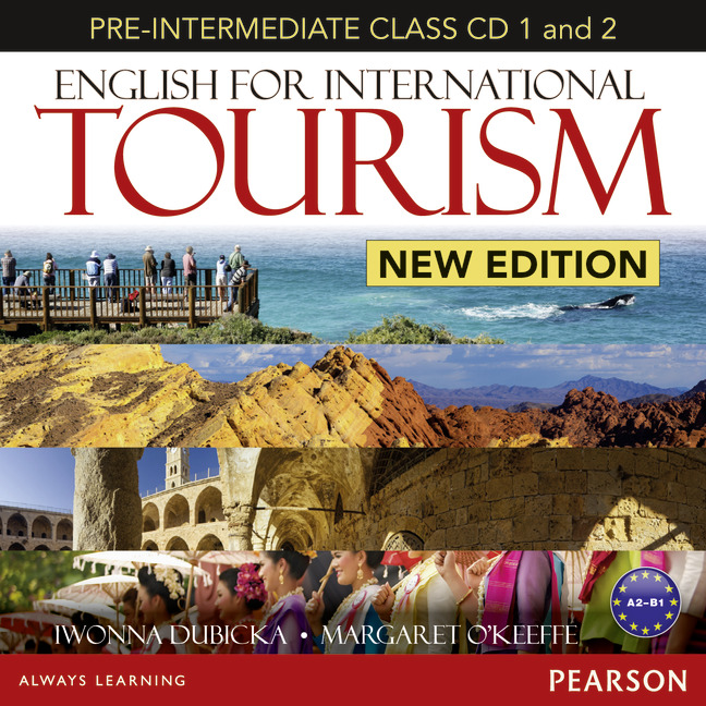 English for International Tourism New Edition: Pre-Intermediate: Class CD (аудиокурс на 2 CD) complete first certificate class audio cd set аудиокурс на cd