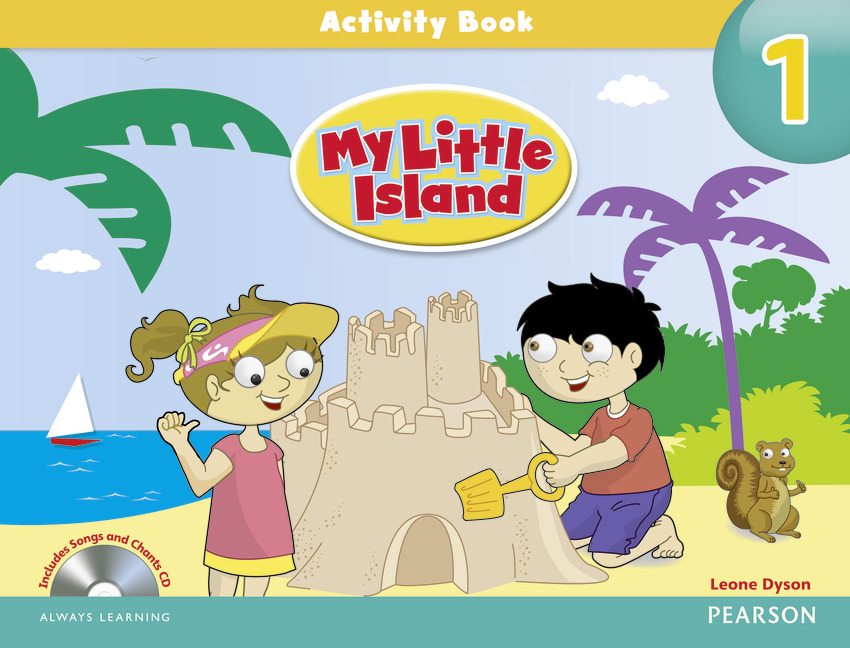 My Little Island: 1 Activity Book (+ CD-ROM) merry team 6 activity book audio cd