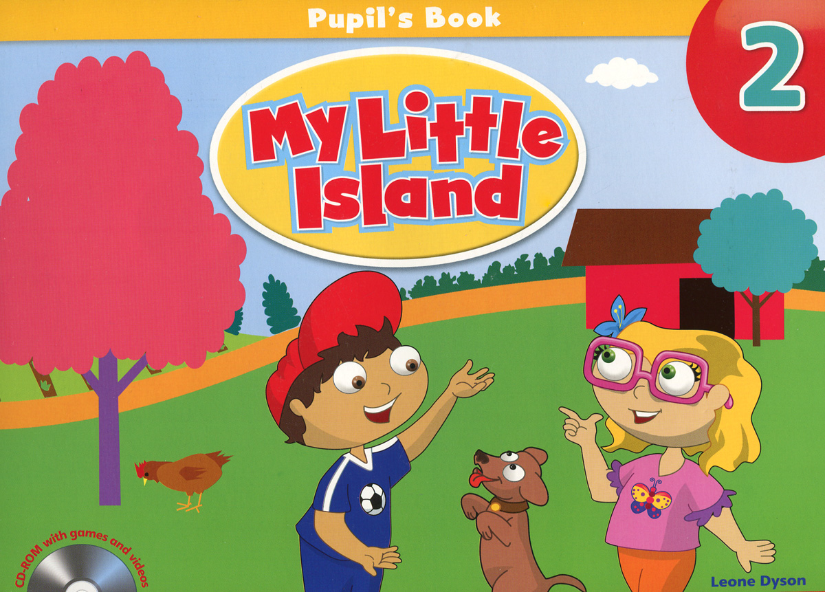 My Little Island 2: Student's Book (+ CD-ROM) my counting sticker activity book