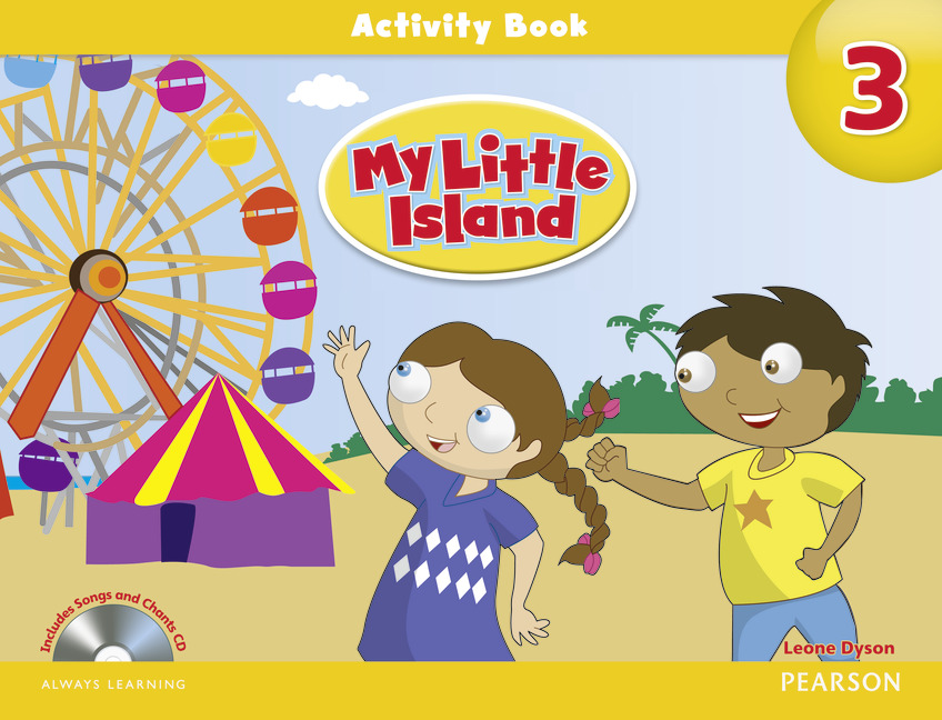 My Little Island: Level 3: Activity Book (+ CD-ROM) леггинсы scorpion bay леггинсы