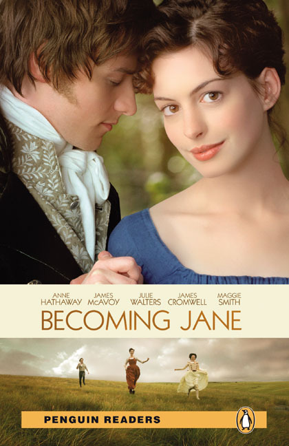 NEW Penguin Readers 3: Becoming Jane, Book /MP3 Pack penguin readers new edition level 2 jungle book book