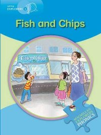 Little Explorers Phonics B: Fish and Chips little explorers phonics b teddy in bed
