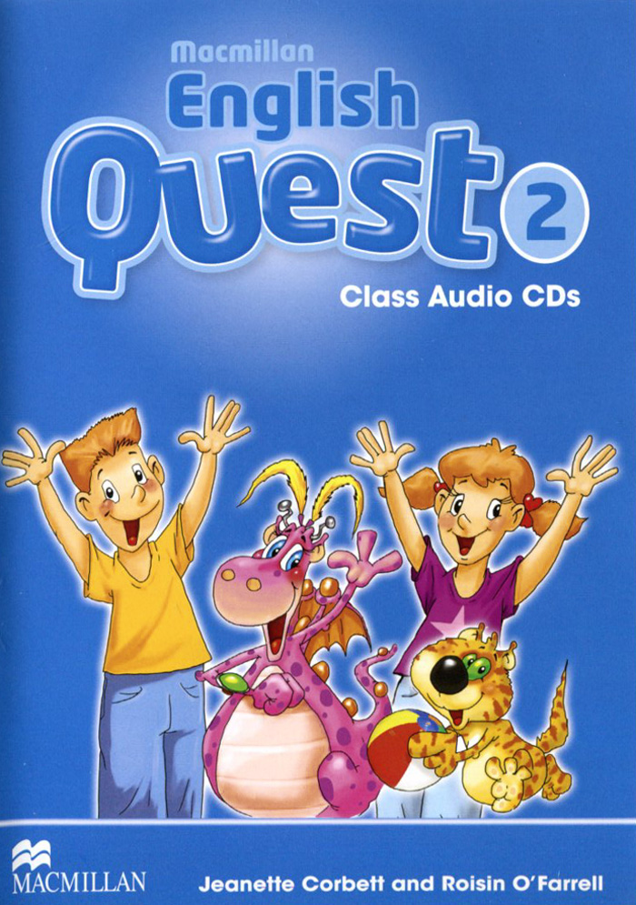 Macmillan English Quest 2: Class Audio CDs (аудиокурс CD) aqua quest 2 10m 5 25g