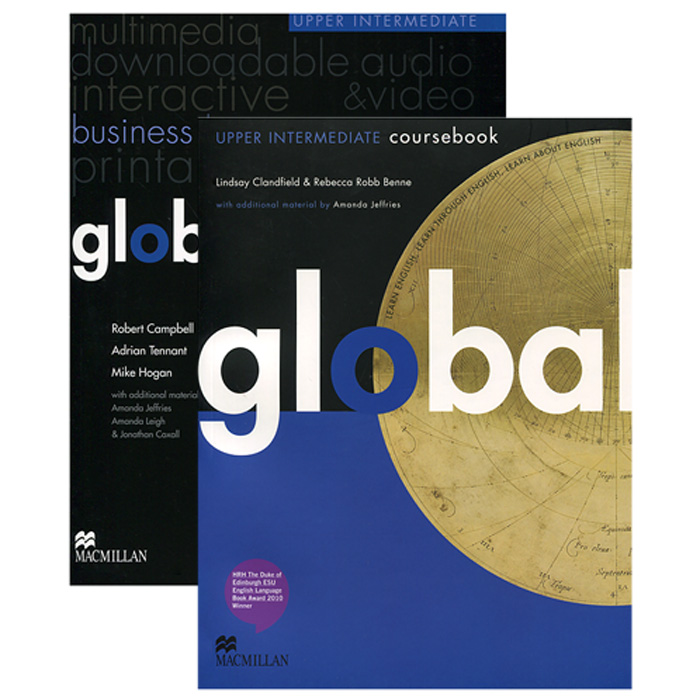 Global Upper Intermediate: Coursebook with eWorkbook Pack (+ DVD-ROM) new english file upper intermediate students book six level general english course for adults