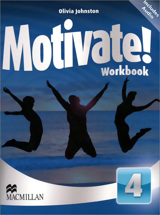 Motivate! Workbook Pack: Level 4 (+ 2 CD) touchstone teacher s edition 4 with audio cd