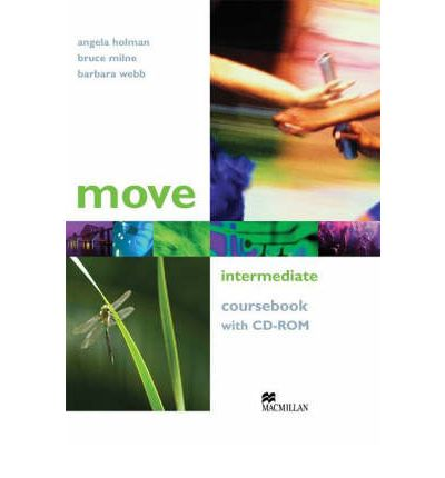 Move Intermediate: Coursebook (+ CD-ROM) ванна для парафина happy spa