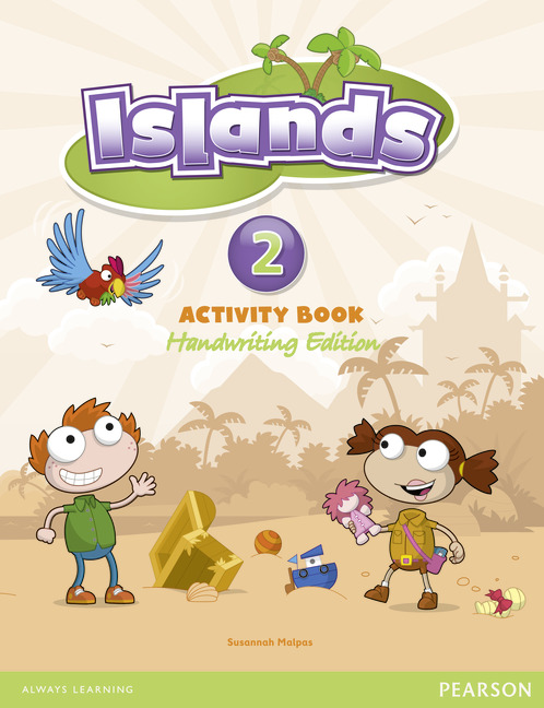 Islands handwriting Level 2 Activity Book + pin code transformers a fight with underbite activity book level 4