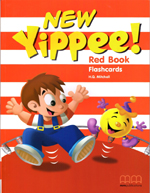 NEW YIPPEE RED FLASHCARDS smart junior 1 flashcards