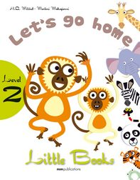 LITTLE BOOKS - LET GO HOME SB WITH CD ROM team up 1 sb reader with audio cd