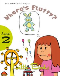 LITTLE BOOKS - WHERE IS FLUFFY SB WITH CD ROM team up 1 sb reader with audio cd