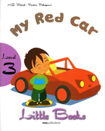 LITTLE BOOKS - MY RED CAR SB WITH CD ROM little books black ant sb with cd rom