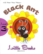 LITTLE BOOKS - BLACK ANT SB WITH CD ROM little elevenparis 393471