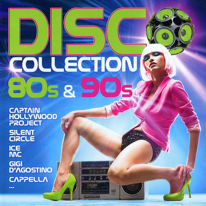 Disco Collection. 80s & 90s (2 CD) плакат в тубусе история изобретений