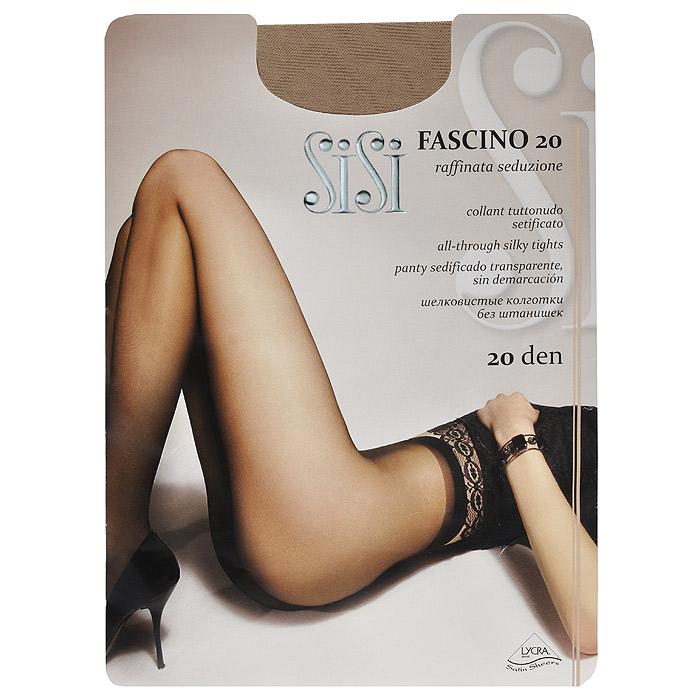 Колготки женские Sisi Fascino 20, цвет: телесный. SNL-288820. Размер 5 колготки женские sisi be free 40 vita bassa цвет телесный snl 011391 размер 3