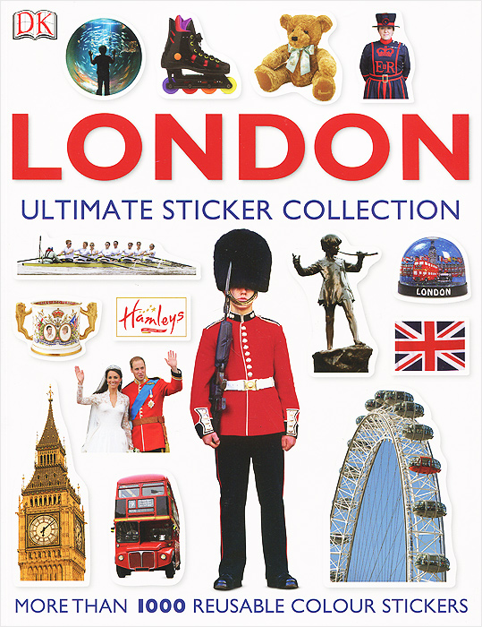 London: Ultimate Sticker Collection ultimate sticker books dog