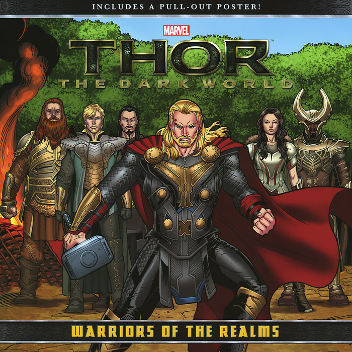 Thor: The Dark World: Warriors of the Realms thor god of thunder volume 4