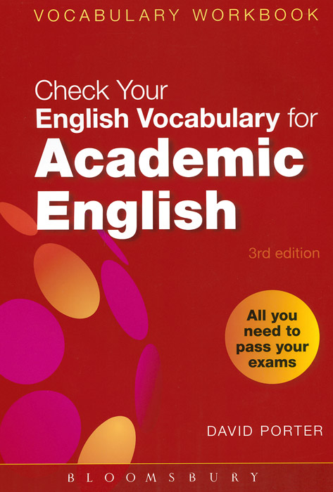 Check Your Vocabulary for Academic English academic vocabulary in use with answers