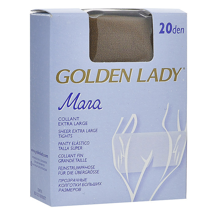 Колготки женские Golden Lady Mara 20, цвет: натуральный. SSP-001438. Размер XL