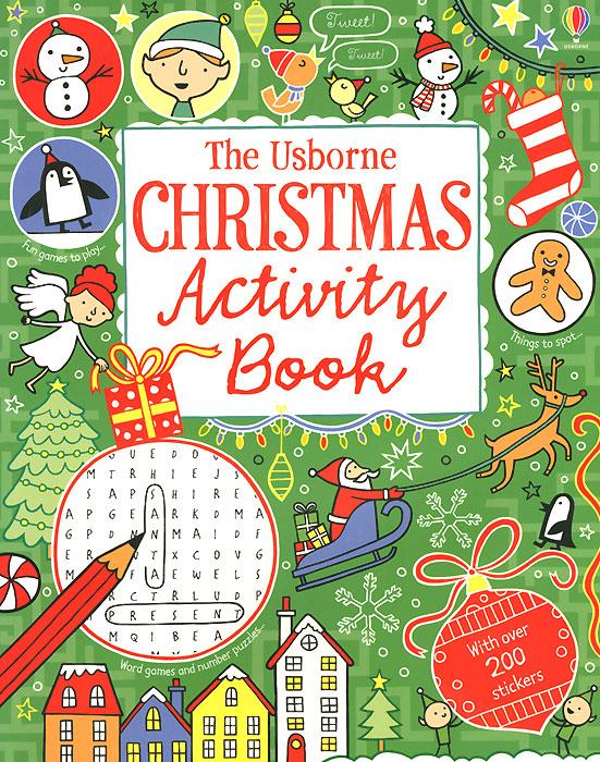 The Usborne Christmas Activity Book the usborne terrific colouring and sticker book