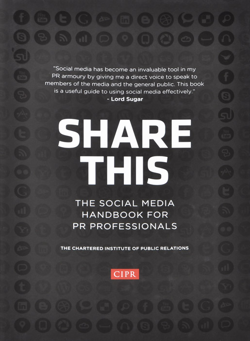 Share This: The Social Media Handbook for PR Professionals цена