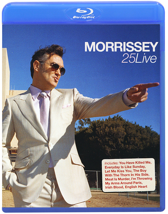 Morrissey: 25 Live (Blu-ray) mason liquid calcium 1 200 mg with d3 400 iu 60 softgels