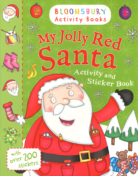 My Jolly Red Santa: Activity and Sticker Book sly fox and red hen activity book level 2