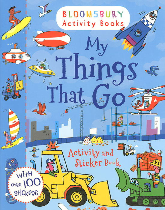 My Things That Go! Activity and Sticker Book my abc sticker activity book