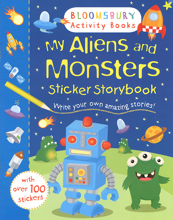 My Aliens and Monsters: Sticker Storybook my fairies sticker storybook
