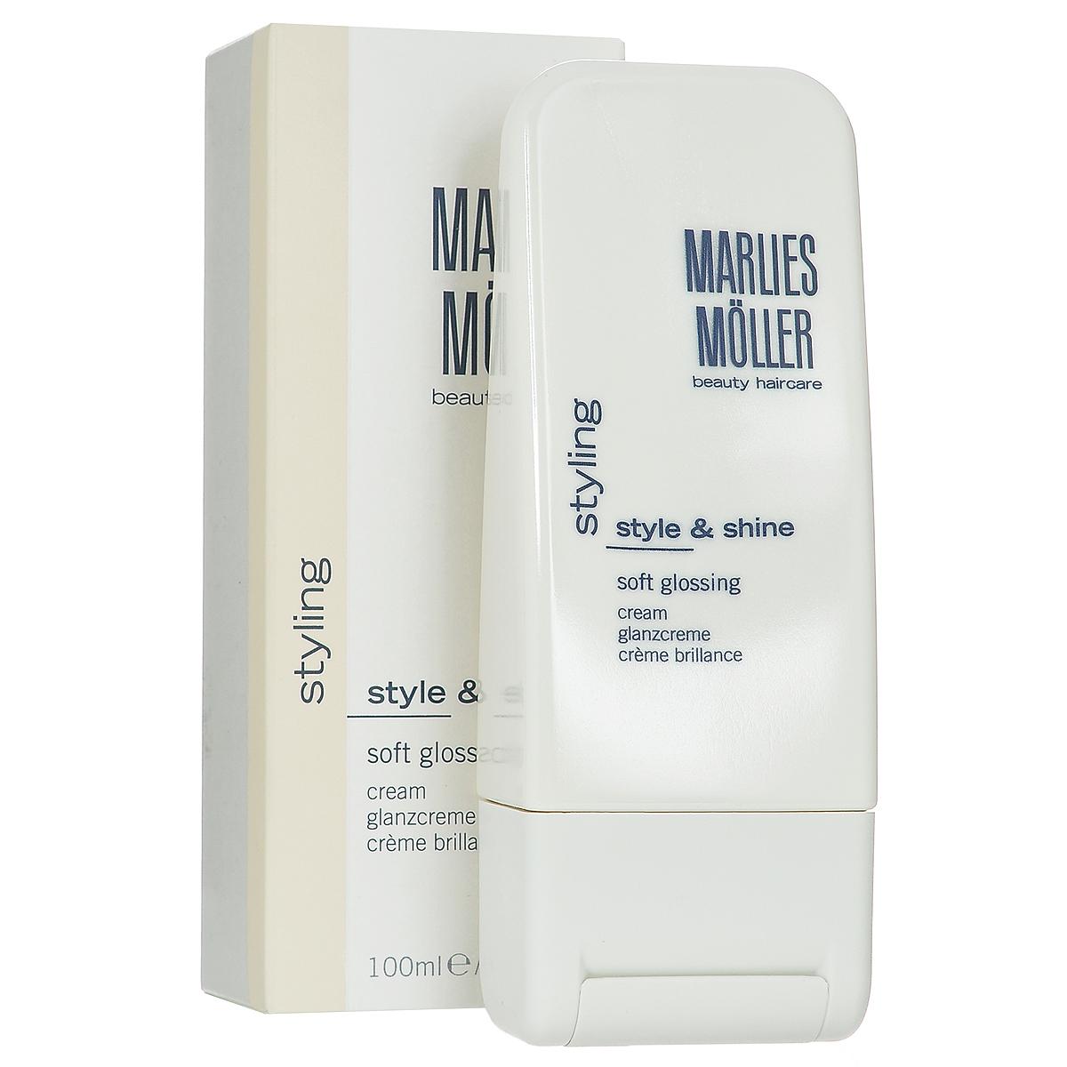Marlies Moller Крем-блеск Styling, для выпрямления волос, 100 мл бальзам marlies moller specialist bb beauty balm for miracle hair 100 мл