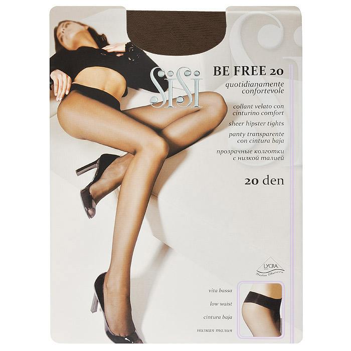 Колготки женские Sisi Be Free 20 Vita Bassa, цвет: загар. SSP-000157. Размер 4 колготки sisi be free размер 4 плотность 20 den nero