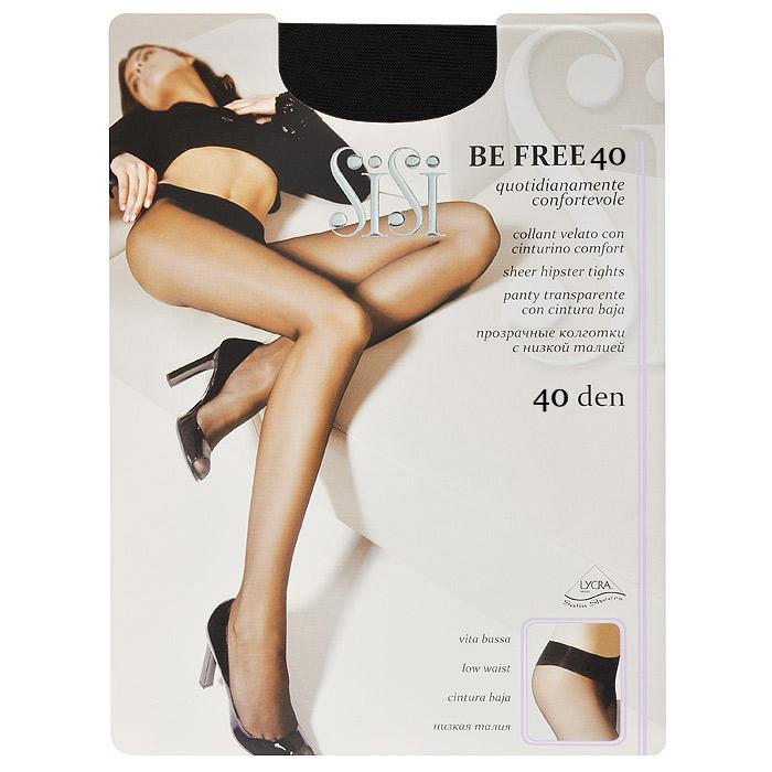 Колготки женские Sisi Be Free 40 Vita Bassa, цвет: черный. SSP-002527. Размер 4 колготки женские sisi be free 40 vita bassa цвет телесный snl 011391 размер 3