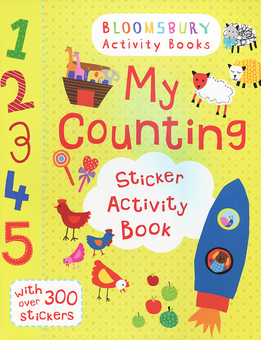 My Counting: Sticker Activity Book angry birds fowl play sticker activity book