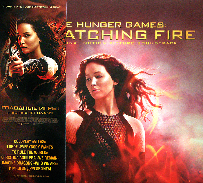 The Hunger Games. Catching Fire. Original Motion Picture Soundtrack northwest sinfonia рэнди миллер the soong sisters original motion picture soundtrack