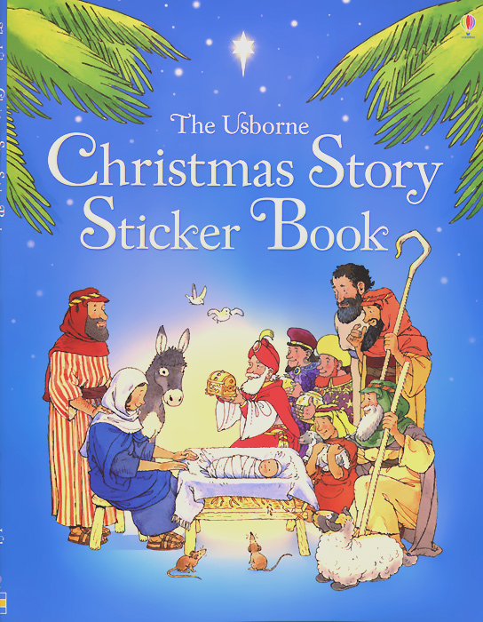 The Christmas Story: Sticker Book the illustrated story of art
