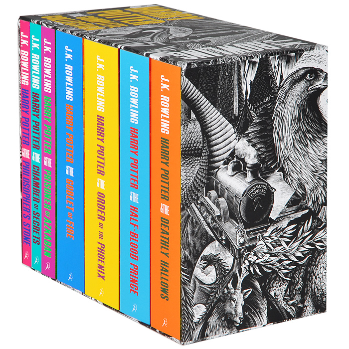 Harry Potter: The Complete Collection (комплект из 7 книг) the john green collection комплект из 5 книг