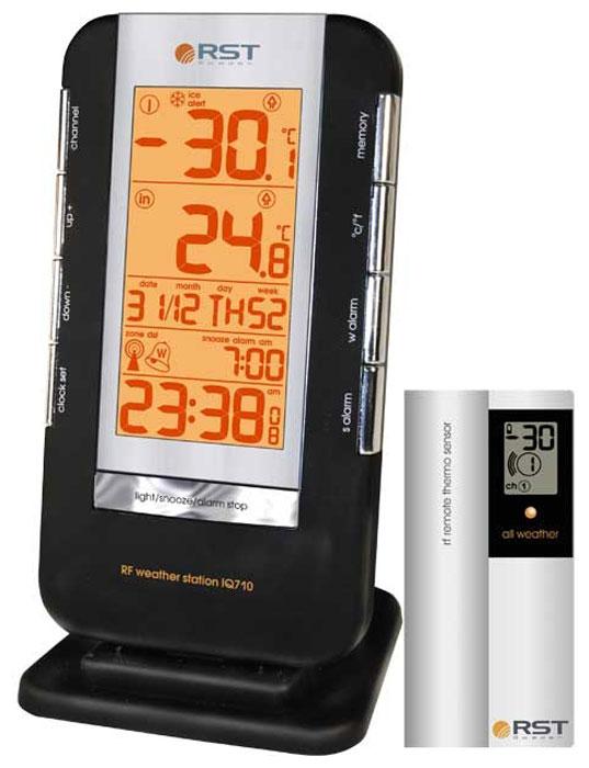RST02710 термометр цифровой с радиодатчиком - Погодные станции