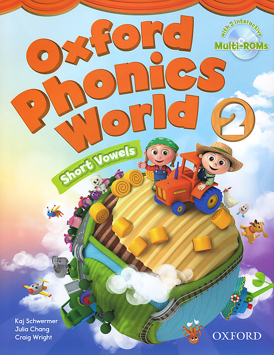 Фото - Oxford Phonics World 2: Student Book (+ 2 CD-ROM) oxford reading tree songbirds alphabet games flashcards