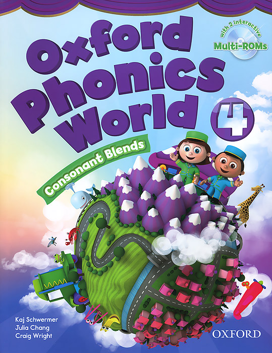 Oxford Phonics World 4: Student Book (+ 2 CD-ROM) cambridge english empower advanced student s book c1